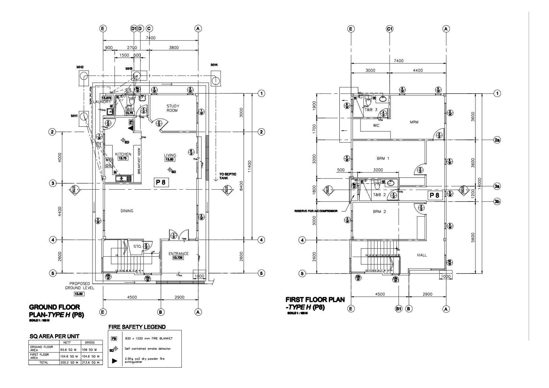 Floor Plan Type H